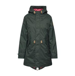 Derbe Zimní bunda  olivová / pink