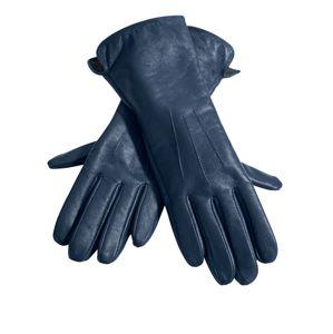heine Prstové rukavice  marine modrá