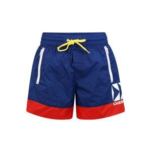 DIESEL Plavecké šortky 'BMBX WAVE'  červená / modrá