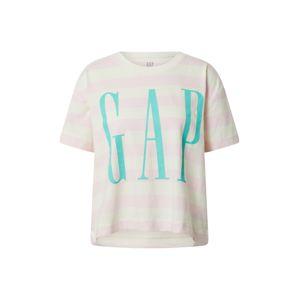 GAP Tričko  pink / bílá / tyrkysová
