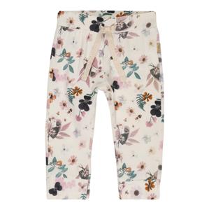 Noppies Kalhoty 'G Slim fit Pants Mattawa AOP'  bílá / modrá / tyrkysová / pastelově růžová / oranžová
