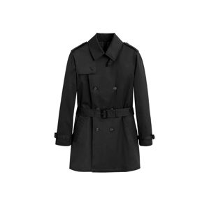MANGO MAN Přechodný kabát  černá