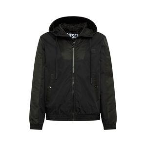 DIESEL Přechodná bunda  černá