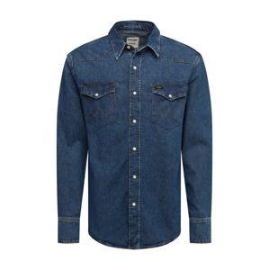 WRANGLER Košile  modrá džínovina