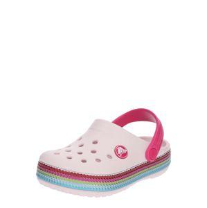 Crocs Sandály  mix barev / pastelově růžová