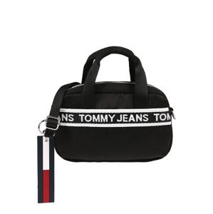 Tommy Jeans Kabelka  černá / bílá / tmavě modrá / červená
