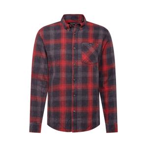 SHINE ORIGINAL Košile  tmavě červená / tmavě modrá