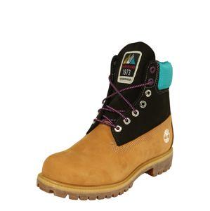 TIMBERLAND Šněrovací boty 'Premium'  černá / světle hnědá