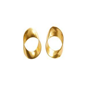 MANGO Náušnice 'Nomar'  zlatá
