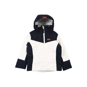 HELLY HANSEN Zimní bunda 'DIVINE'  bílá / marine modrá