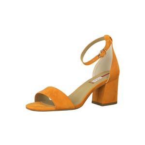 s.Oliver Páskové sandály  oranžová / béžová / zlatá