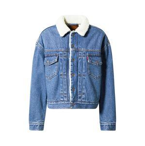 LEVI'S Přechodná bunda  modrá džínovina