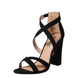 Miss KG Páskové sandály 'FAUN'  černá