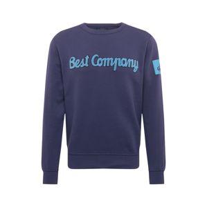 Best Company Mikina  námořnická modř / světlemodrá