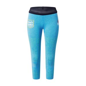REEBOK Sportovní kalhoty 'MyoKnit'  modrá / černá
