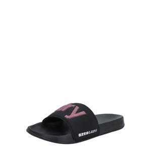 Superdry Plážová/koupací obuv  pink / černá