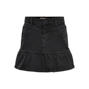 KIDS ONLY Sukně  černá džínovina
