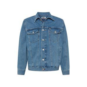 Tommy Jeans Přechodná bunda  bílá / modrá džínovina / světle červená