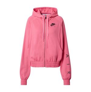 Nike Sportswear Mikina s kapucí  pink / černá