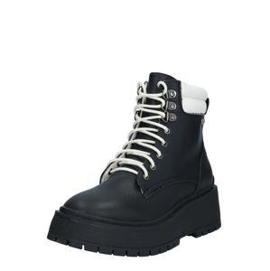Pepe Jeans Šněrovací boty  černá