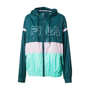 FILA Sportovní bunda 'Lazare'  tmavě zelená / pink / mátová
