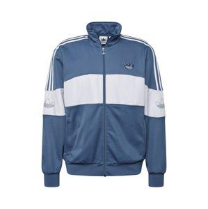ADIDAS ORIGINALS Mikina s kapucí 'BANDRIX TT'  tmavě modrá / bílá