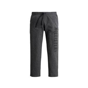 HOLLISTER Kalhoty  černý melír / čedičová šedá