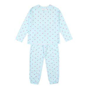 GAP Pyžamo  aqua modrá