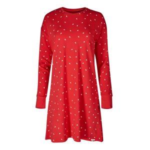 Skiny Noční košilka  červená / bílá