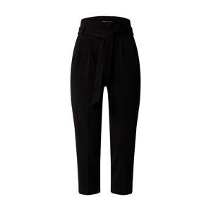 Miss Selfridge (Petite) Kalhoty se sklady v pase  černá