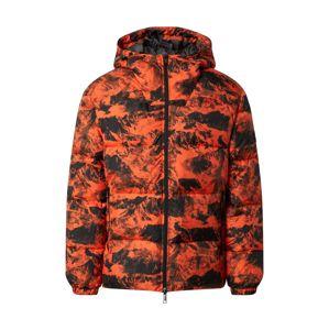 ARMANI EXCHANGE Přechodná bunda '6HZB56'  černá / oranžová