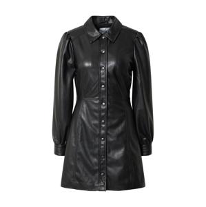 mbym Košilové šaty  černá