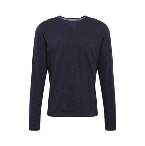 BLEND Tričko  námořnická modř
