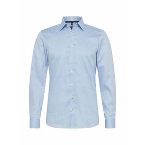 OLYMP Košile 'Level 5'  bílá / světlemodrá