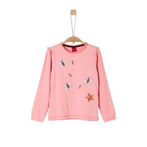 S.Oliver Junior Tričko  světle růžová