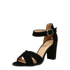 PAVEMENT Páskové sandály 'Silke'  černá