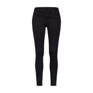 Articles of Society Kalhoty 'Sarah Ankle Skinny Bailey'  černá / stříbrná
