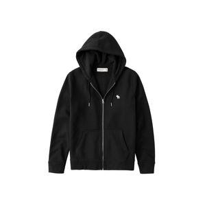 Abercrombie & Fitch Mikina s kapucí  černá