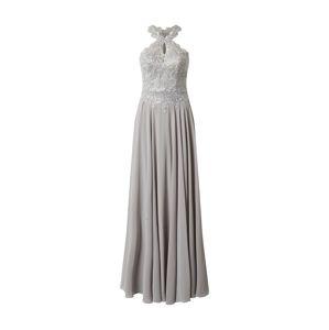 LUXUAR Společenské šaty  světle šedá / stříbrná