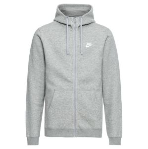 Nike Sportswear Mikina s kapucí  šedá