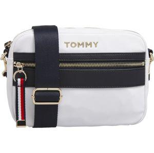 TOMMY HILFIGER Taška přes rameno  bílá