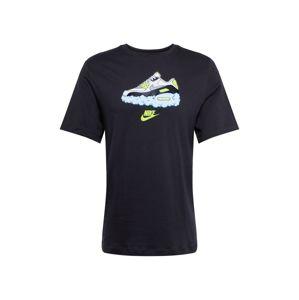Nike Sportswear Tričko 'AIR AM90'  bílá / černá