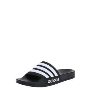 ADIDAS PERFORMANCE Plážová/koupací obuv 'Adilette'  černá / bílá