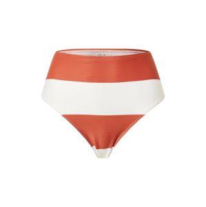 ROXY Spodní díl plavek 'SISTERS'  bílá / tmavě oranžová