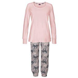 BUFFALO Pyžamo  čedičová šedá / růžová