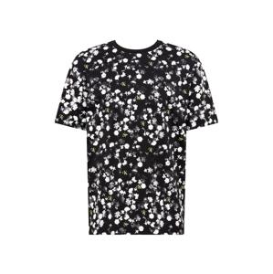 Calvin Klein Jeans Tričko  černá / bílá / kiwi