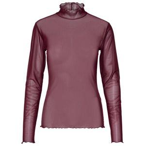 ONLY Tričko  tmavě fialová