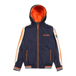 Cars Jeans Přechodná bunda 'KIDS MINORI'  námořnická modř / oranžová