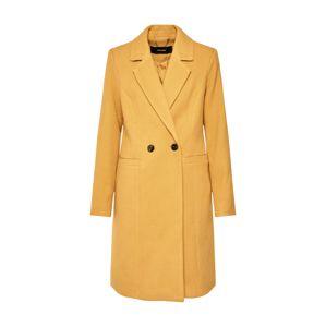 VERO MODA Přechodný kabát  zlatě žlutá
