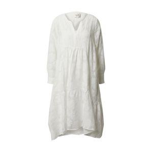 SECOND FEMALE Šaty 'Mila LS Midi Dress'  bílá